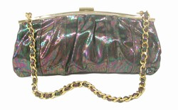 Solas Harmony Clutch - Oily Gold