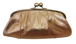 Solas Eleanor Clutch - copper